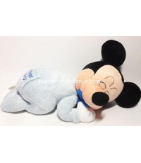 Disney : Sleeping Baby Mickey Mouse Musical Plush Doll