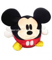 Disney : Round Shaped Mickey Mouse Bean Bag Plush 10\quot;