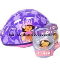 Dora the Explorer : Micro Bicycle Helmet and Protective Pad