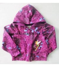 Disney : Tinkerbell Butterfly Outfit Tracksuit Hoddie Jacket