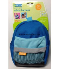 Brica : By-My-Side Safety Harness Backpack - Blue