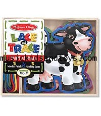 Melissa and Doug : Lace and Trace Farm Play Set