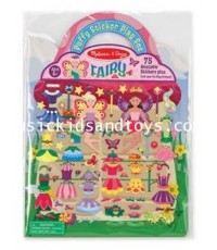 Melissa and Doug : Puffy Stickers Play Set - Fairy