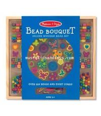 Melissa and Doug : Bead Bouquet Deluxe Wooden Bead Set