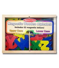 Melissa and Doug : Wooden Letter Alphabet Magnets