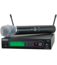 SHURE SLX24/BETA87 Wireless Microphone Systems
