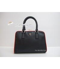 กระเป๋า ปราด้า Prada Saffiano Patent Leather bag Mirror Image