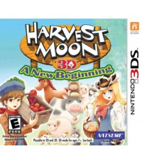 3DS: Harvest Moon 3D: A New Beginning [US]