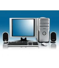 ชุดคอมพิวเตอร์ เอชพี (hp) Compaq dx7400 Microtower Desktop PC (KB518PA#AKL) with LCD