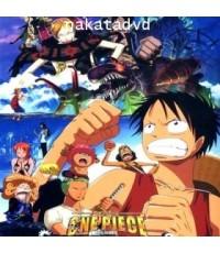 One Piece The Movie 07 : ทหารหุ่นยนต์ยักษ์แห่งปราสาทคาราคุริ  DVD 1 แผ่น พากย์Japanese