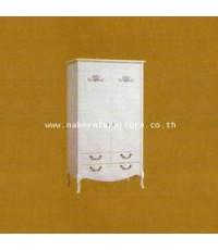 ตู้เสื้อผ้า 2 บาน SHINMU SS-W0155