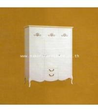 ตู้เสื้อผ้า 3 บาน SHINMU SS-W0156