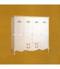 ตู้เสื้อผ้า 4 บาน SHINMU SS-W0157