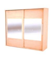 ตู้เสื้อผ้าบานเลื่อน กระจก WD.2038MI