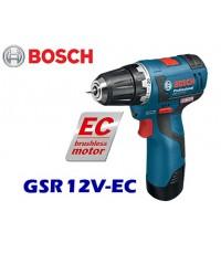 สว่านไขควงไร้สาย  GSR12V-EC BOSCH