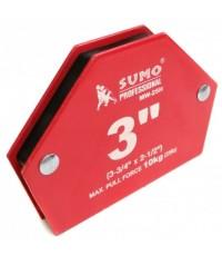 แม่เหล็กจับฉาก3นิ้ว MW-25H SUMO