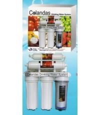 เครื่องกรองน้ำ Colandas 5 ขั้นตอน กล่องผลไม้ แผ่นอลูมิเนียม