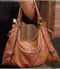 กระเป๋าหนังเย็บมือ สินค้าชุมชนตำบลน้ำแพร่
