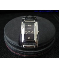 นาฬิกา Guess สายหนังสีดำ