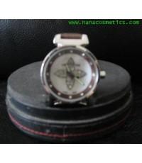 นาฬิกา Louis สายหนังสีน้ำตาล