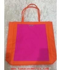 กระเป๋าสะพายคลีนิค สีส้มชมพูสดใส