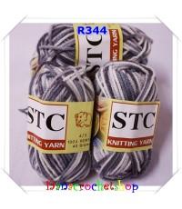 ไหม STC สีเหลือบ เบอร์ R344 ขนาด 1 แพ็ค บรรจุ 5 ชิ้น