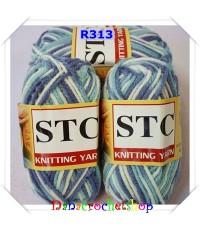 ไหม STC สีเหลือบ เบอร์ R313 ขนาด 1 แพ็ค บรรจุ 5 ชิ้น