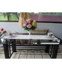ผ้าปูโต๊ะกลางโซฟาสไตล์วินเทจ