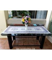 ผ้าปูโต๊ะกลางโซฟาสไตล์คอทเทจ