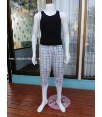 กางเกงนอนผ้า cotton