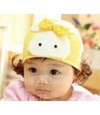 หมวกไหมพรมเด็กหญิง