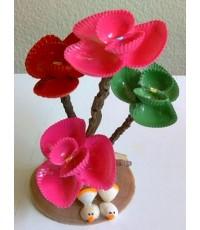 ดอกไม้ประดิษฐ์จากเปลือกหอย