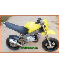 MONKEY-R วางเครื่อง LIFAN  สีเหลือง