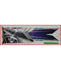 สติกเกอร์ YAMAHA-NOUVO MX สีขาวมุก-ดำ ปี 2005