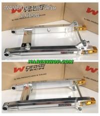 สวิงอาร์มอลูมิเนียม รุ่น Honda-Wave110i,125i สีเงิน งาน Asia Product