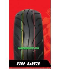 ยางนอก QUICK ลาย GR 603 เบอร์ 140/70-12 T/L
