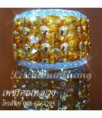 แหวนบุษราคัมประดับเพชร..แหวนหมั้น..แหวนแต่งงาน..ของขวัญ..รับประกันคุณภาพจากผู้ผลิตโดยตรง