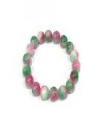 Natty Gems สร้อยข้อมือ ฮกลกซิ่ว ขนาด 10 mm  - Multi color