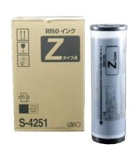 หมึกแท้เครื่องพิมพ์สำเนาดิจิตอล RISO EZ 200/220/330/370 รหัส S-4251 สีดำ