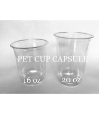 แก้วพลาสติก PET CAPSULE