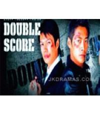 VCD ซีรีย์ญี่ปุ่น เรื่อง มือปราบป่วนยกกำลังสอง (Double Score)