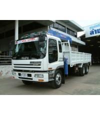 รถบรรทุก10ล้อ ติดเครน ISUZU -GIGA 6WA1-360HP ติดเครน TADANO 505G