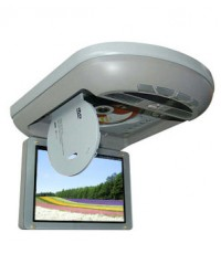 TV/MONITORพร้อมเครื่องเล่นDVDในตัว แบบติดเพดานรถยนต์ จอภาพ TFT LCD ขนาด 8 นิ้ว