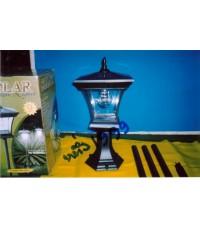 มาแล้วครับ!!โคมไฟฟ้าพลังแสงอาทิตย์รุ่นพิเศษ 9 หลอด ใหญ่/สว่าง/สวยๆ ในสวนหรือหัวเสาก็ใช้งานได้ดีครับ