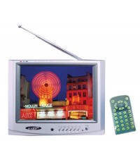 ZL-TV-805 ทีวีสีและจอมอนิเตอร์จอภาพ LCD ขนาด 8 นิ้ว ภาพสีสวย สดใส เต็มตา  ZULEX ทีวีคุณภาพดีครับ