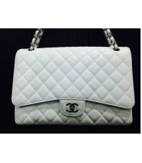 Chanel Maxi White Secoud