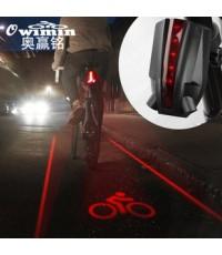 ไฟท้ายจักรยาน  5 LED, ไฟท้ายจักรยานเสือภูเขา
