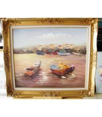 ภาพวาด เรือ 3 ลำ