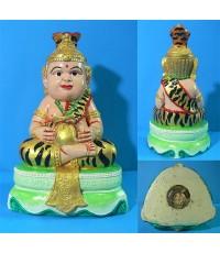 เทพฤาษีมุนีน้อย (ลงสี) หลวงพ่อสมชาย วัดไผ่แปลกแม่ สุพรรณบุรี