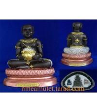 กุมารทองนพฤทธิ์ บูชา 5 นิ้ว หลวงพ่อศรีเมือง อินทวณโณ วัดคันทด จ.สุพรรณบุรี
